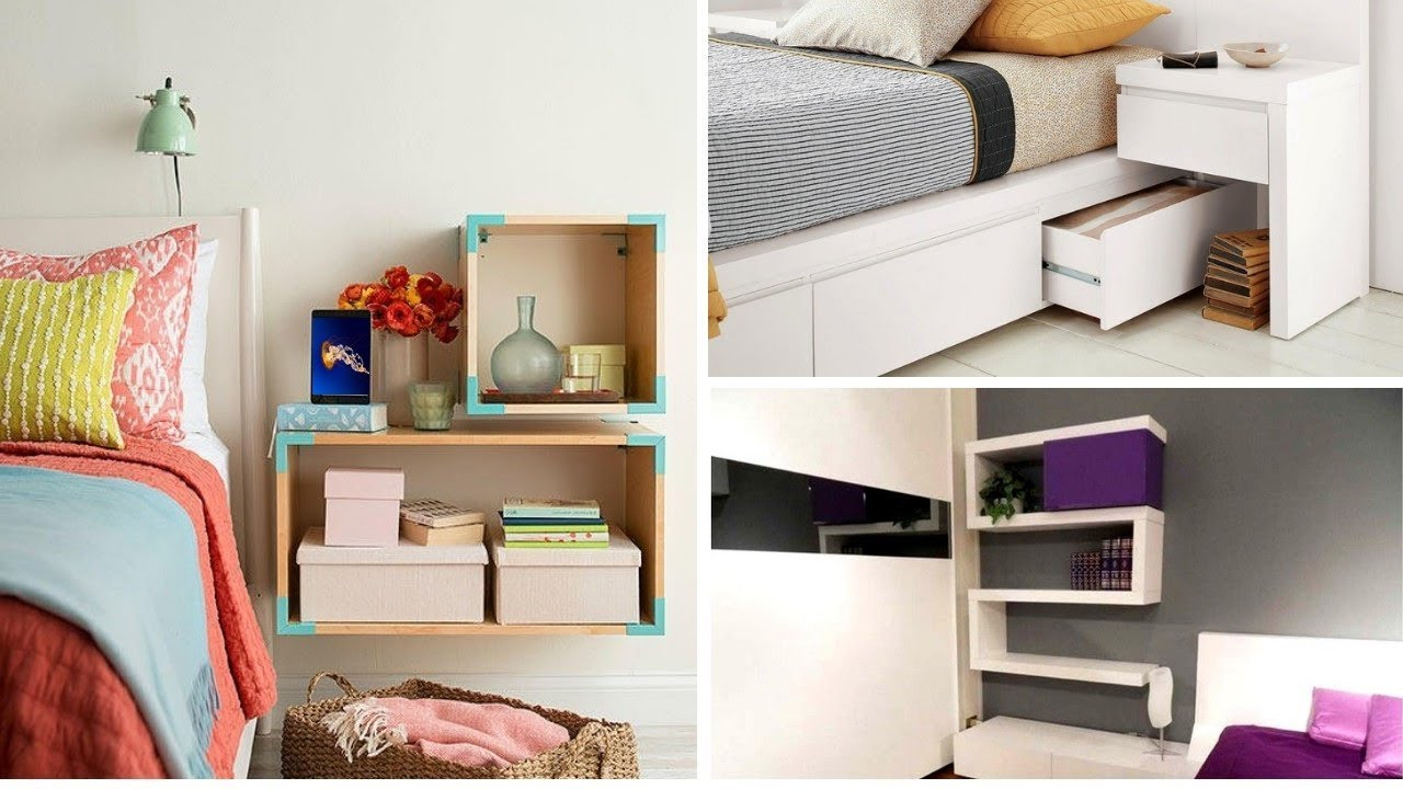 10 Spectacular Creative Ideas For Small Bedrooms 50 creative storage ideas for small bedrooms youtube