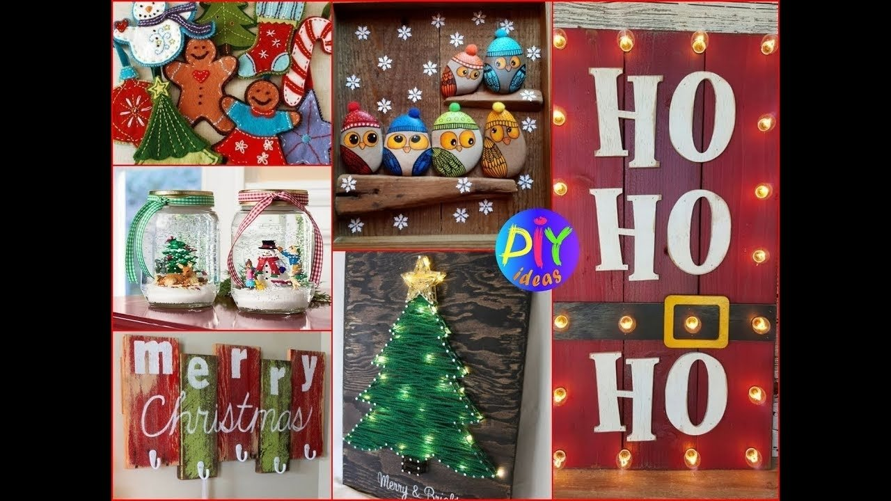 10 Ideal Christmas Craft Ideas To Sell 50 diy christmas crafts to make and sell best ideas 2017 youtube 2020