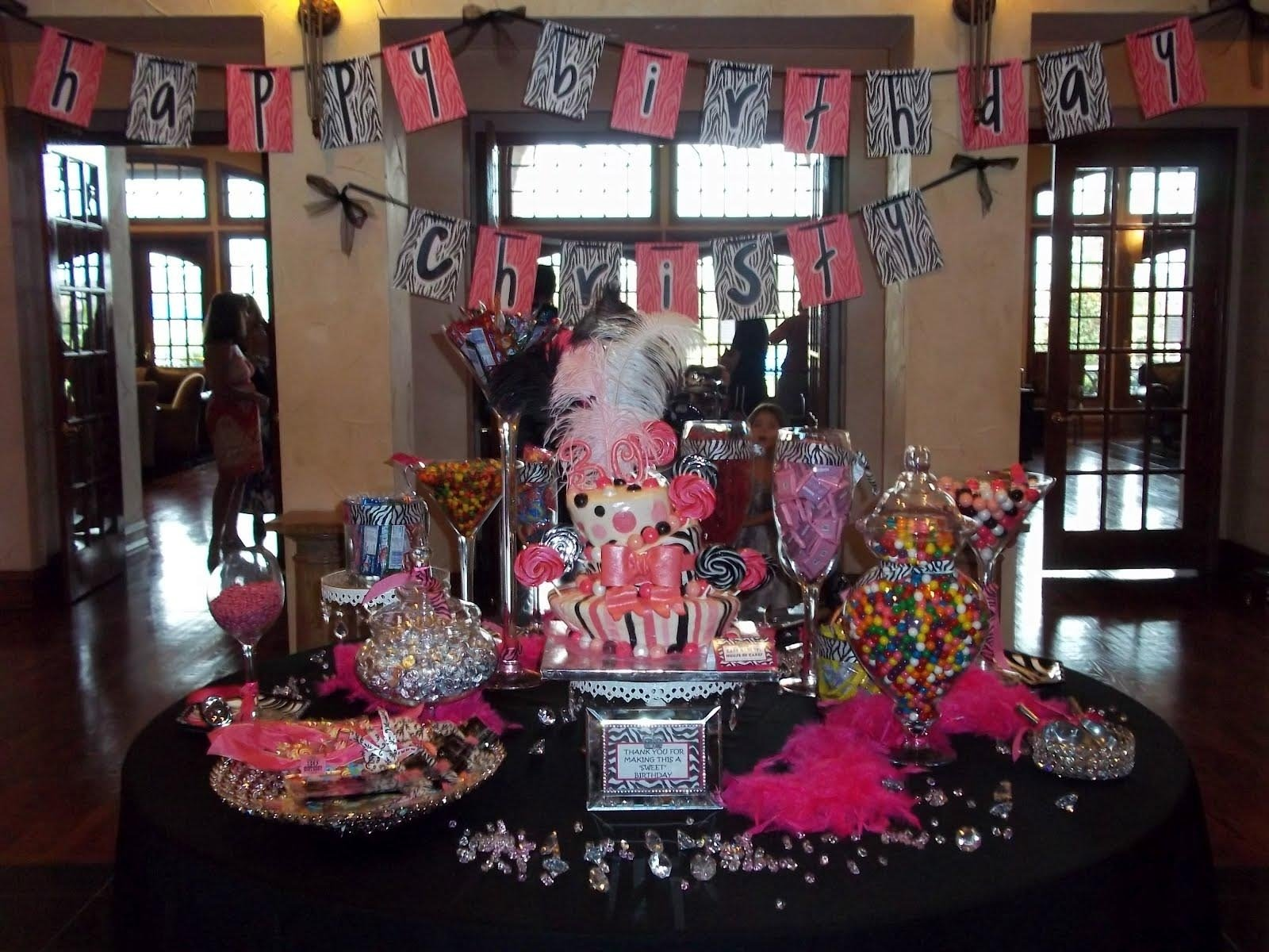 10 Perfect 30Th Birthday Party Ideas For Women 50 elegant party decoration ideas for 30th birthday decoration 1 2020
