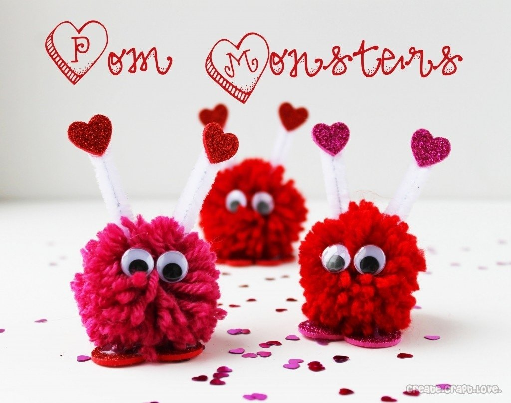 10 Best Valentine Craft Ideas For Kids 50 fun valentines day party ideas treats crafts games and decorations 2 2021