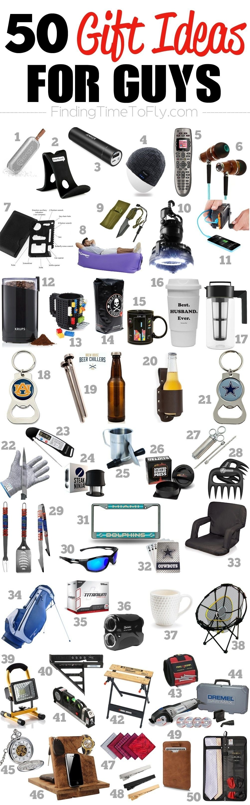 10 Pretty Christmas List Ideas For Guys 50 gifts for guys for every occasion outdoor gear christmas gifts 1 2020