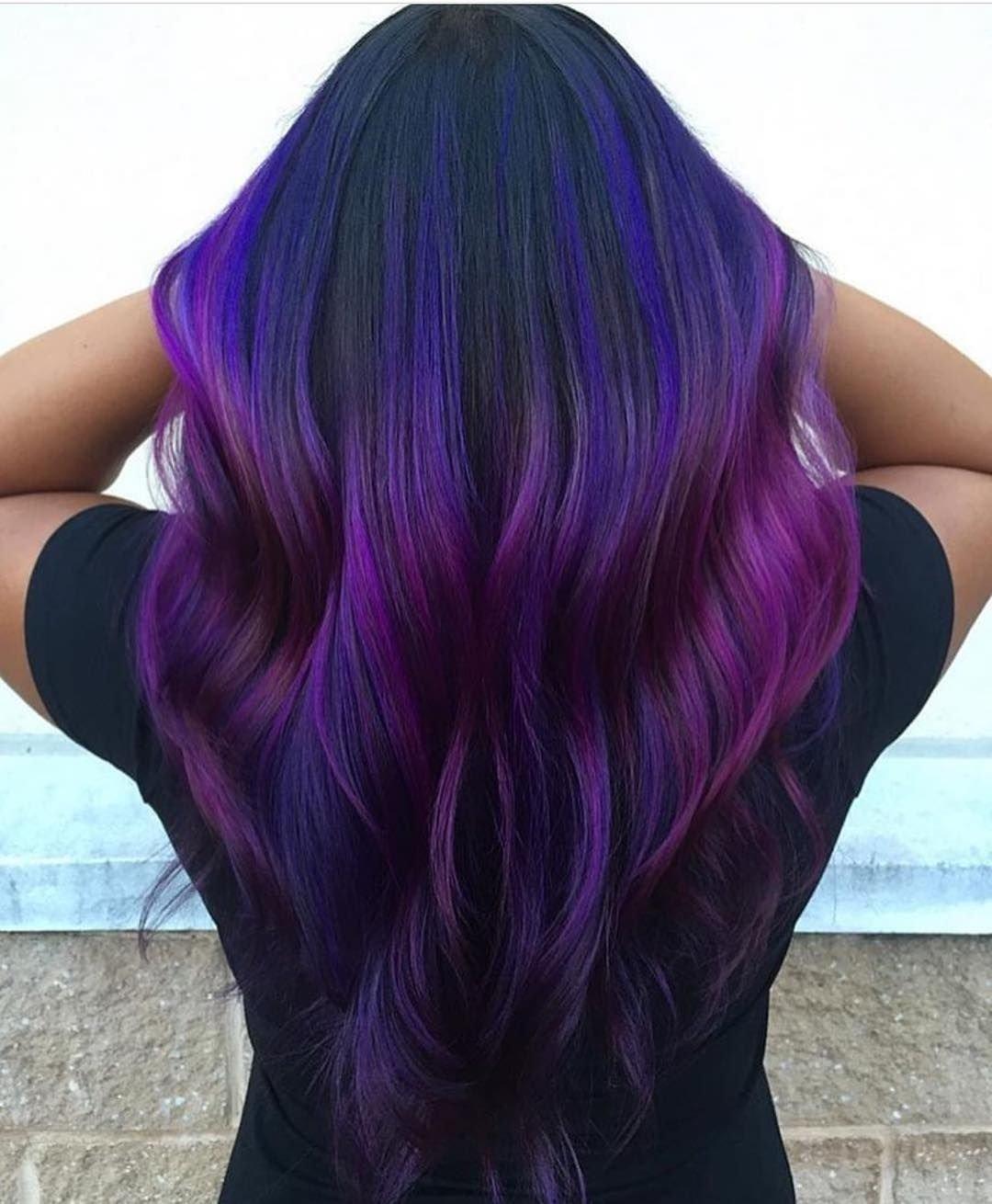 10 Wonderful Pink And Purple Hair Ideas 50 glamorous dark purple hair color ideas destined to mesmerize 2020