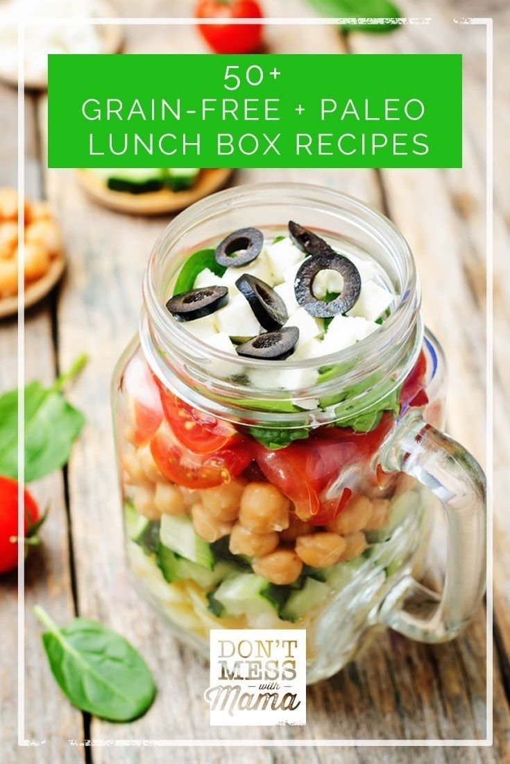 10 Lovable Paleo Lunch Ideas For Work 50 grain free and paleo lunch box recipes paleo lunch box lunch