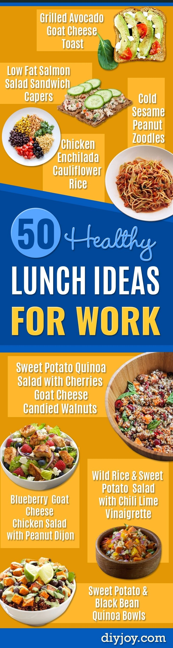 10 Great Low Fat Lunch Ideas For Work 50 healthy but awesome lunch ideas for work 2020