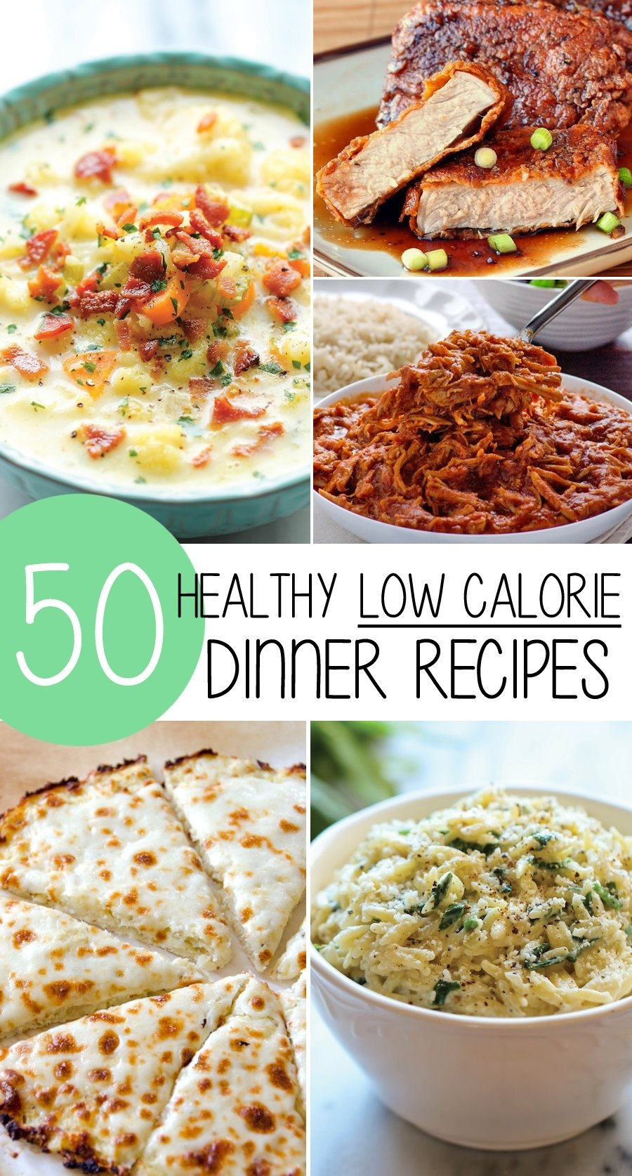 10 Wonderful Food Ideas For Dinner Tonight 50 healthy low calorie weight loss dinner recipes 6 2020