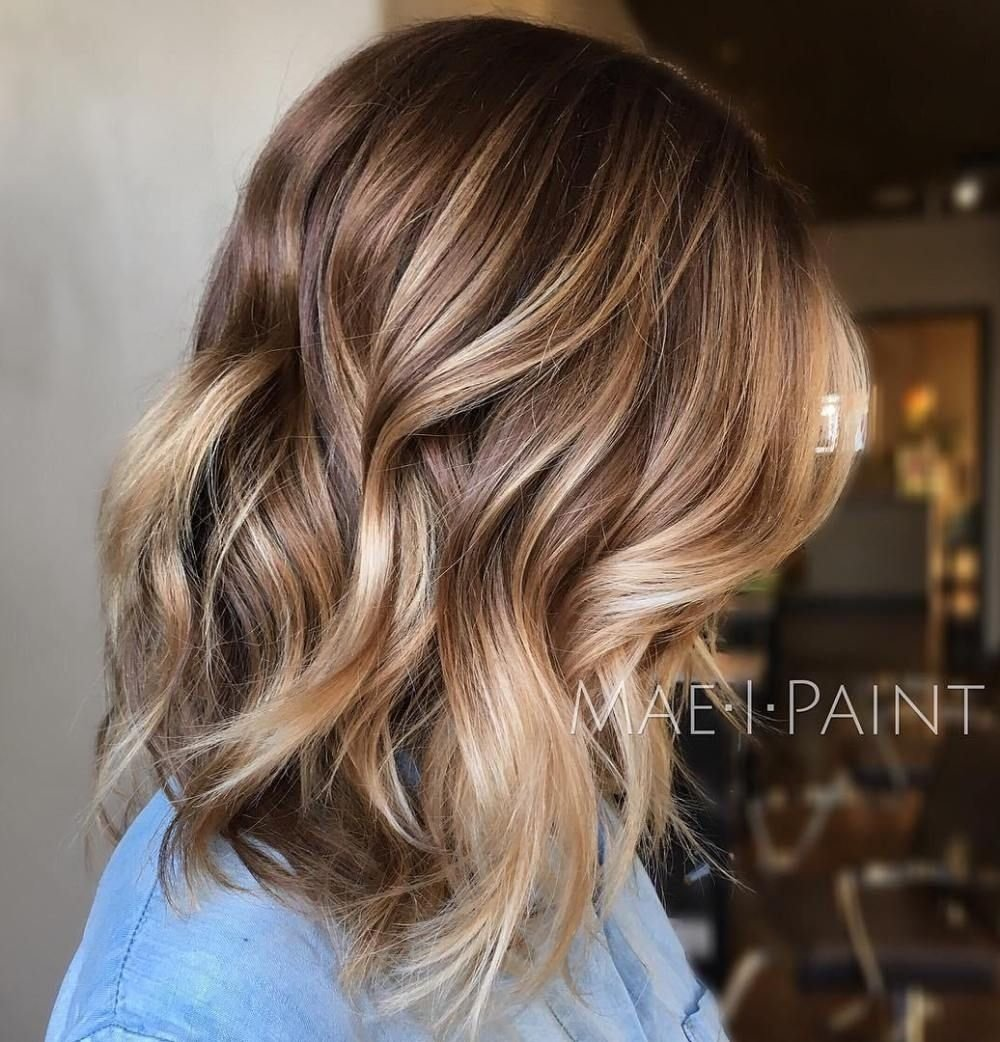 50 ideas for light brown hair with highlights and lowlights | light