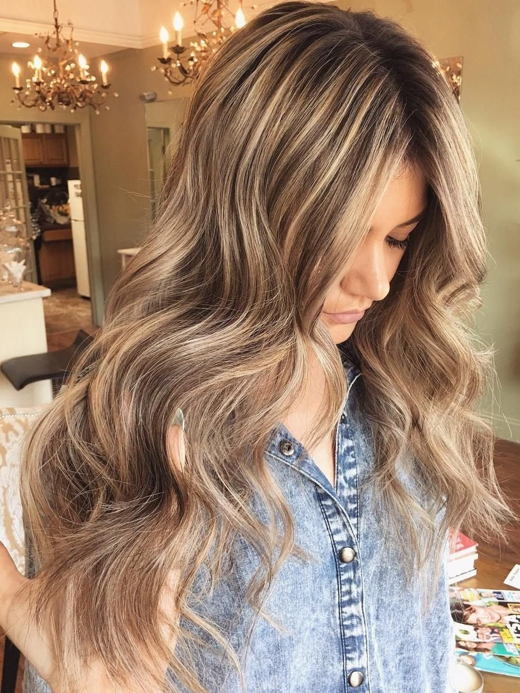 10 Attractive Highlight Ideas For Light Brown Hair 50 ideas for light brown hair with highlights and lowlights long 2020