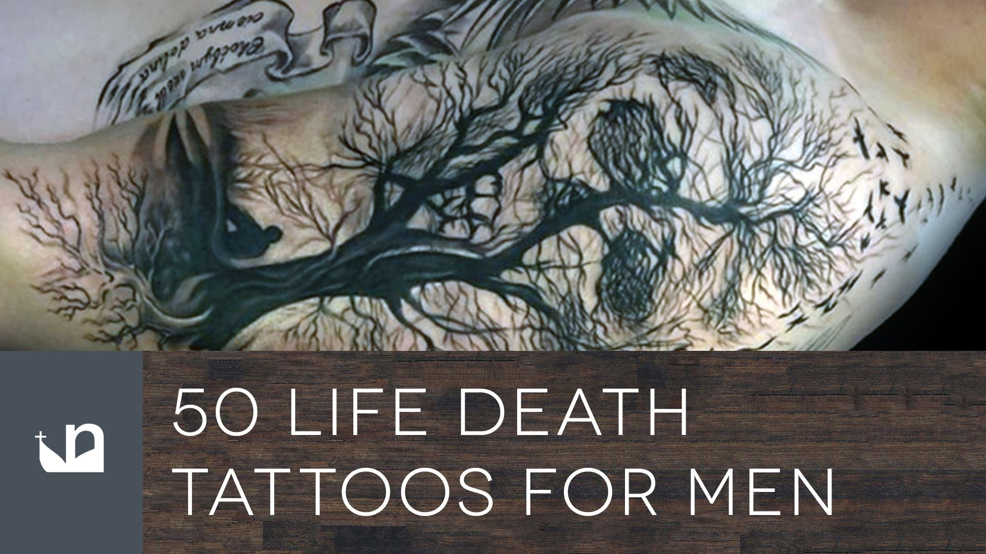 10 Stunning Life And Death Tattoo Ideas 50 life death tattoos for men youtube 2020