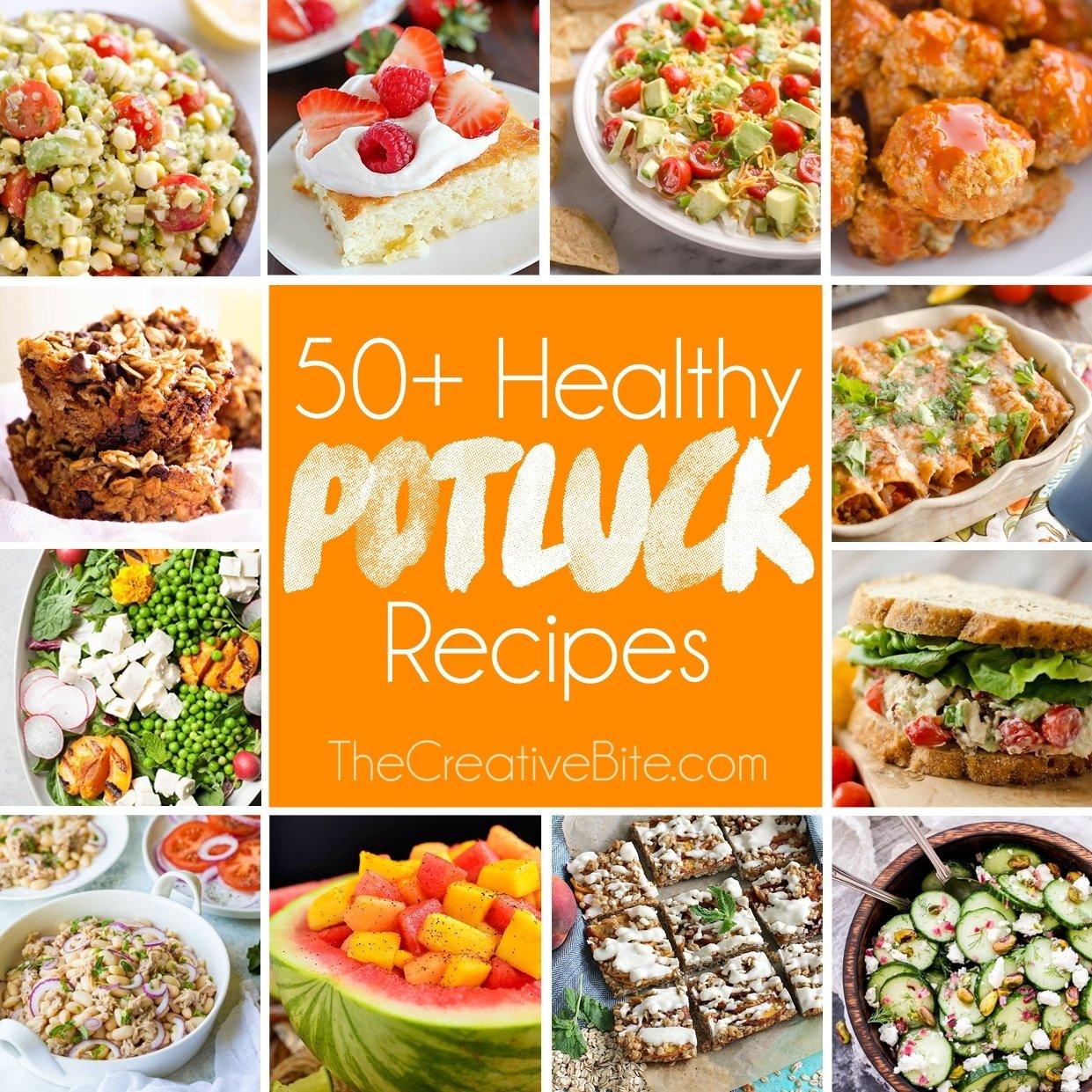 10 Elegant Cheap And Easy Potluck Ideas 50 light healthy potluck recipes 5 2021