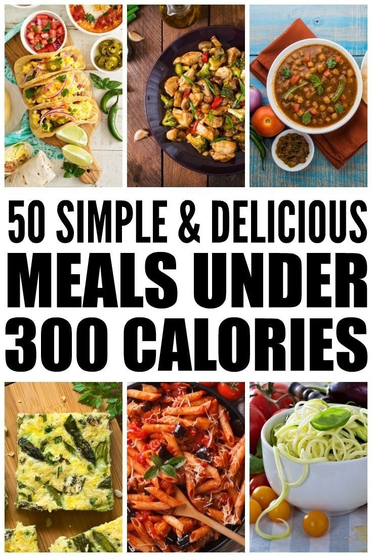 10 Fabulous Breakfast Ideas Under 300 Calories 50 meals under 300 calories how to lose weight without starving 2