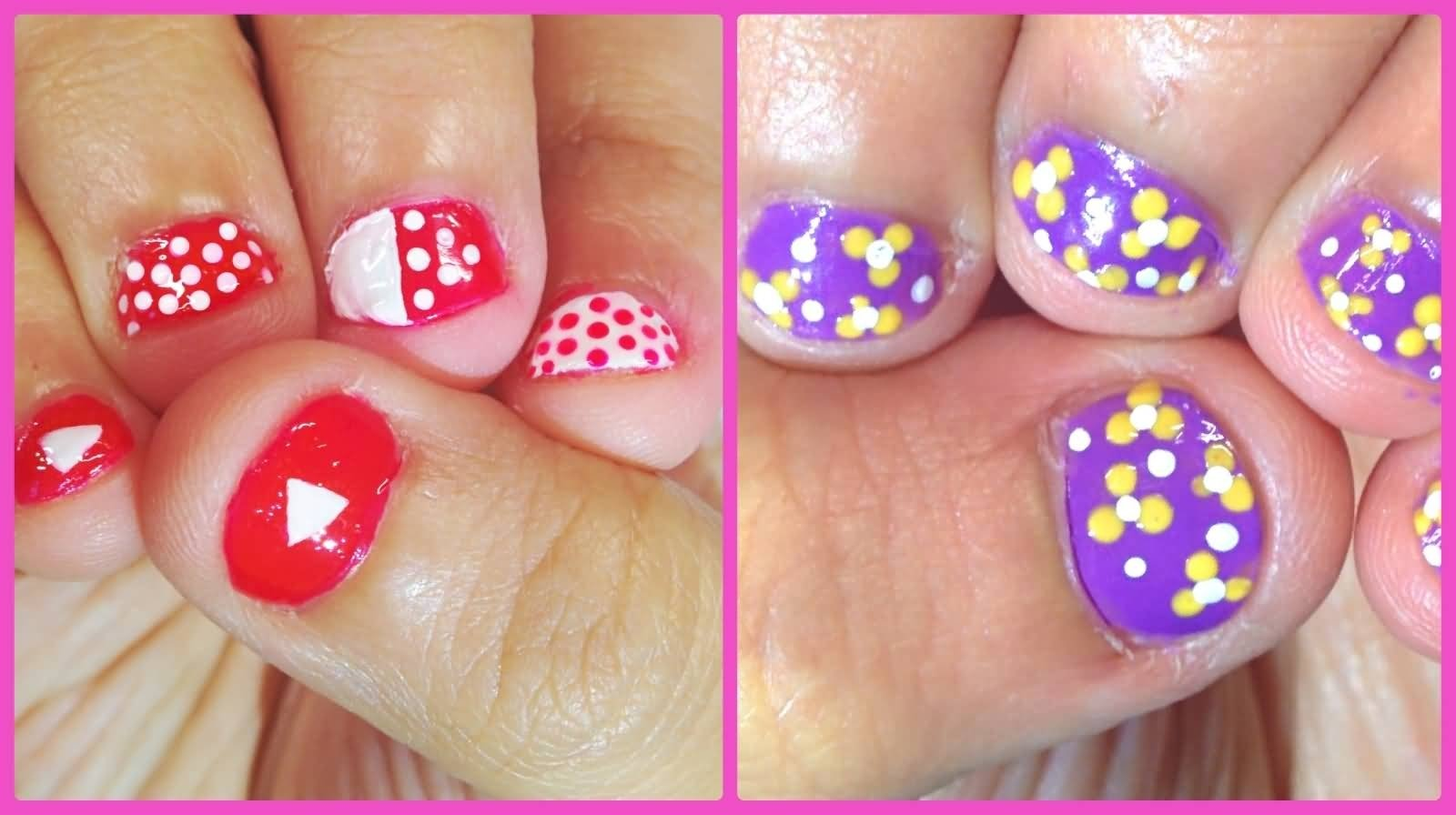 10 Nice Nail Design Ideas For Short Nails 50 most stylish short nail art design ideas 2020