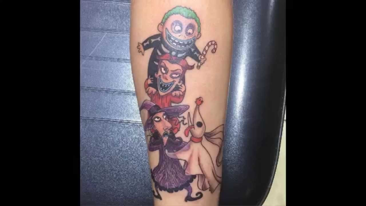 10 Most Recommended Nightmare Before Christmas Tattoo Ideas