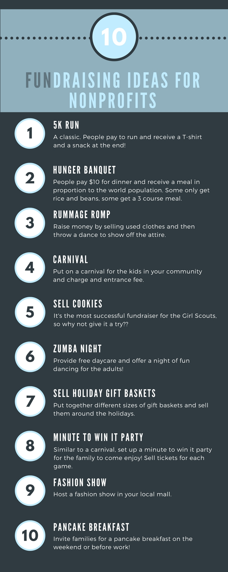 10 Attractive Creative Fundraising Ideas For Nonprofits 50 nonprofit fundraising ideas fundraising ideas fundraising and 10 2020