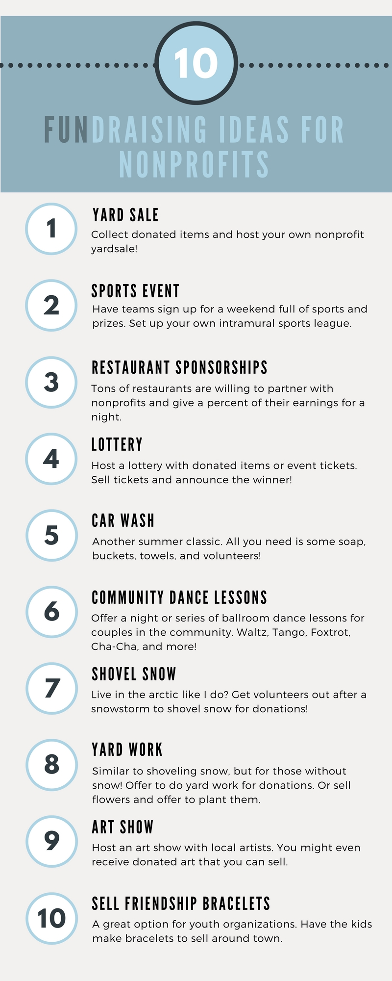 10 Spectacular Fundraising Ideas For College Organizations 50 nonprofit fundraising ideas fundraising ideas fundraising and 6 2020