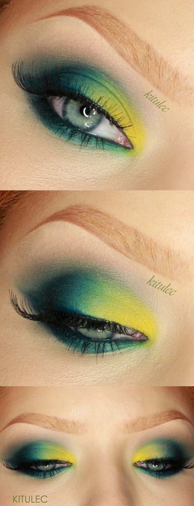 50 perfect makeup tutorials for green eyes - the goddess
