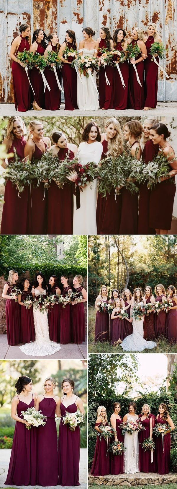 10 Amazing Wedding Color Ideas For Fall 50 refined burgundy and marsala wedding color ideas for fall brides 2020