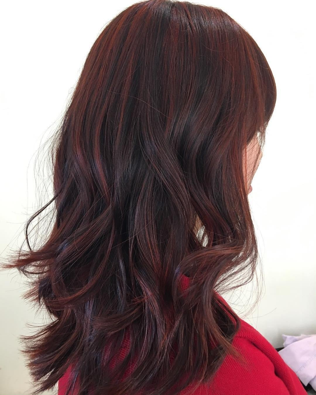 Dark Red Hair Color Shades Topsimages