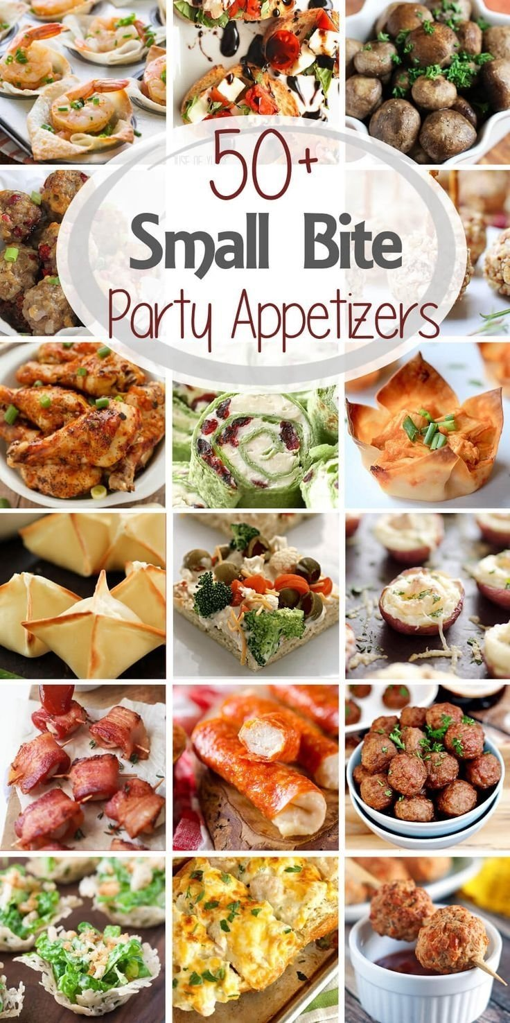 10 Spectacular Food Ideas For New Years Eve Party 50 small bite party appetizers get ready for holiday parties and 1 2020