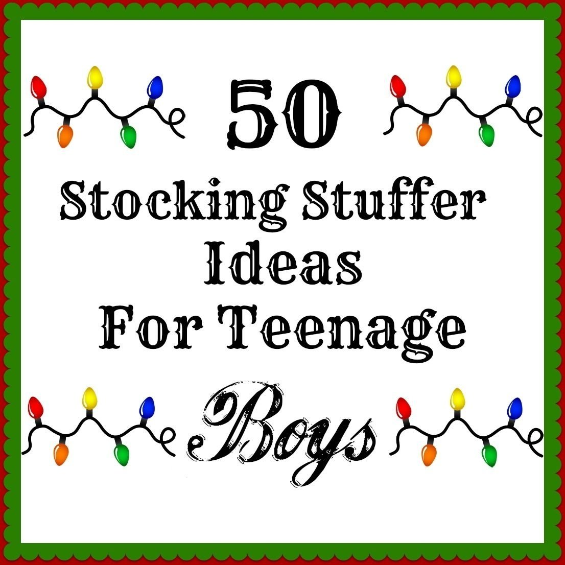 10 Spectacular Stocking Stuffer Ideas For Teenagers 50 stocking stuffers for teenage boys holidays pinterest 2020