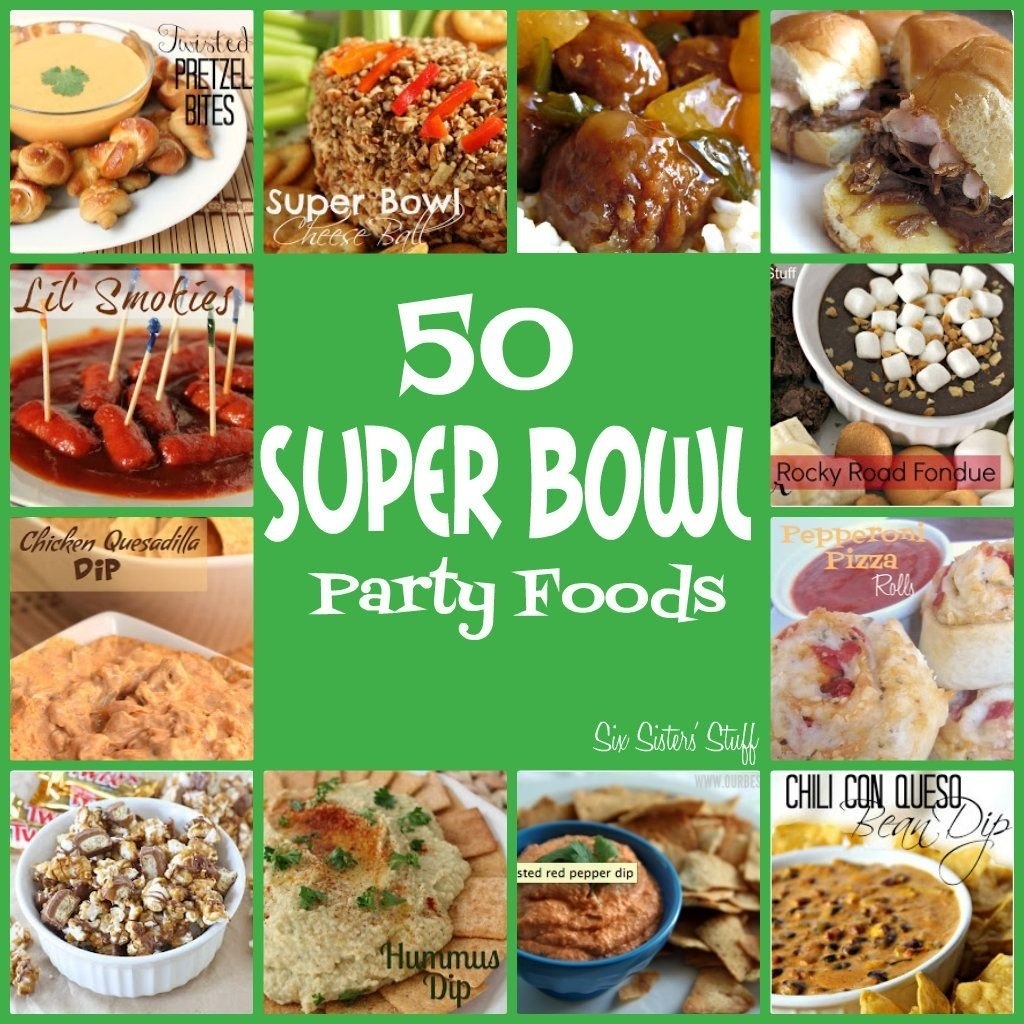 10 Stunning Super Bowl Party Menu Ideas 50 super bowl party food ideas from sixsistersstuff look no 2021