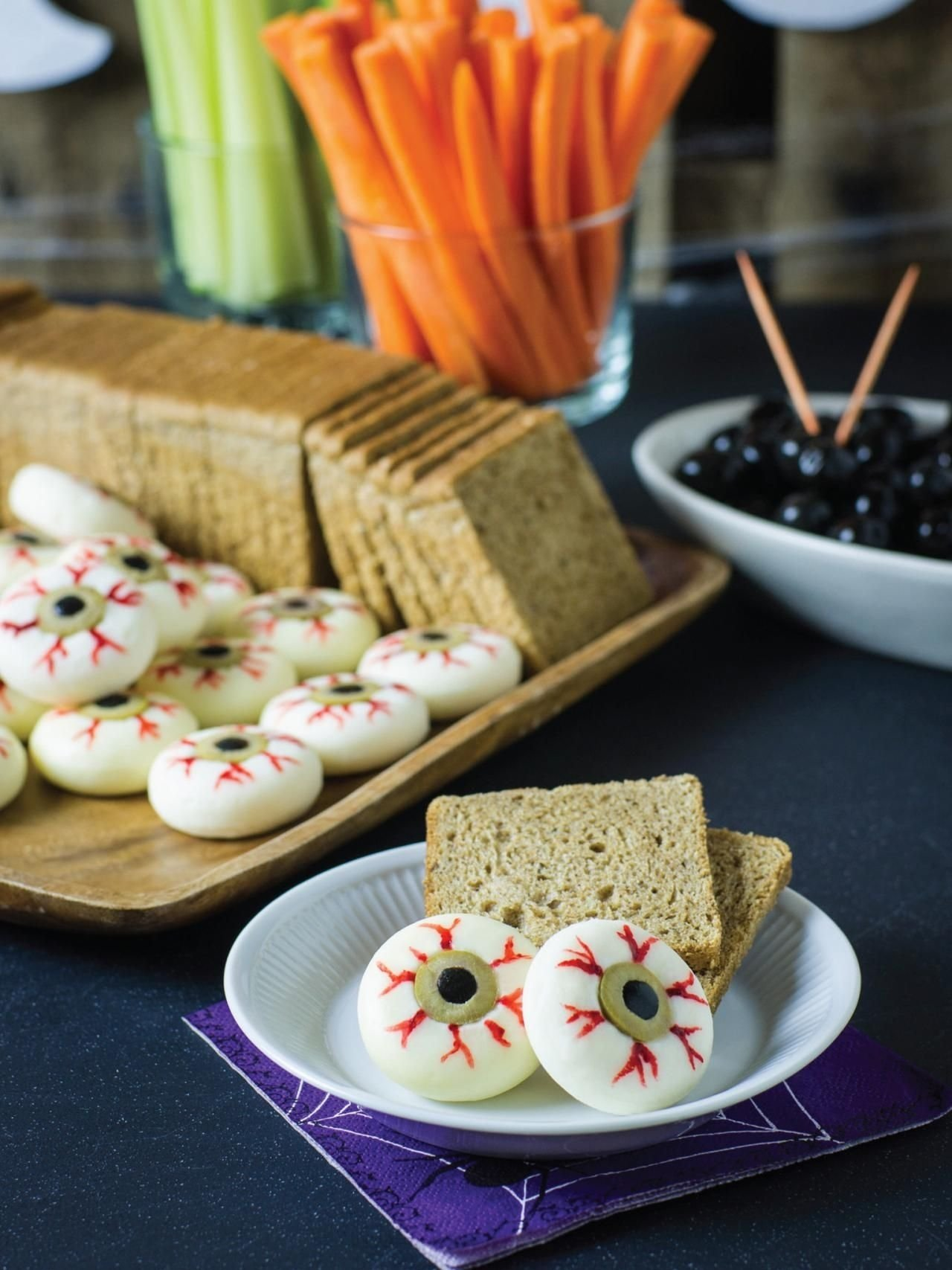 50+ sweet and salty halloween snacks and treats | party guests