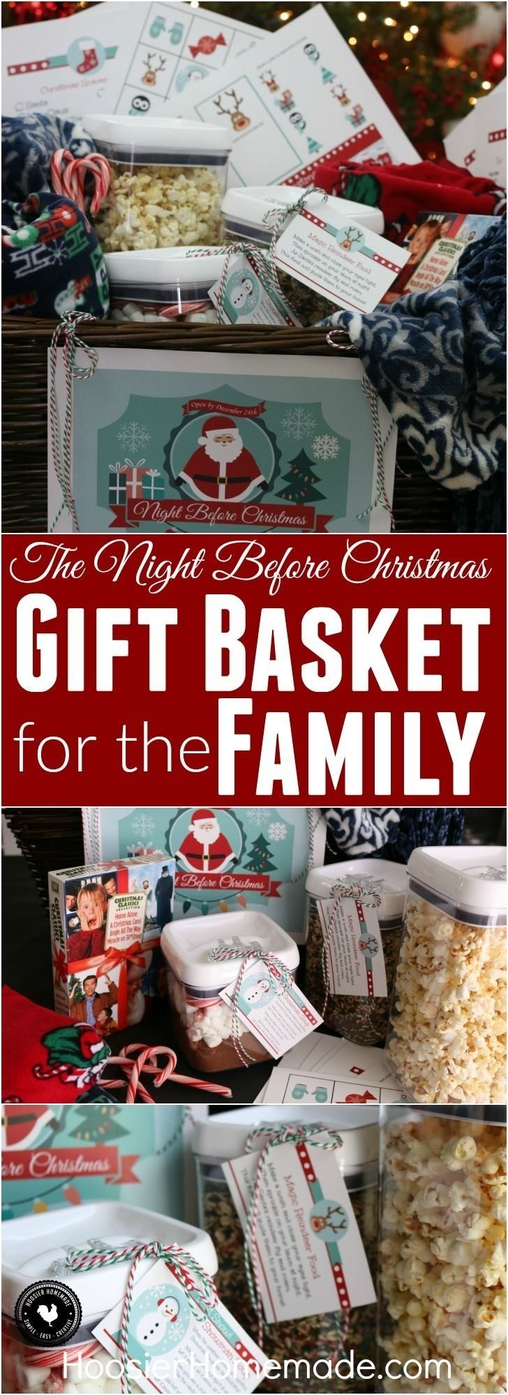 10 Lovable Family Christmas Gift Basket Ideas 50 themed christmas basket ideas christmas gifts gift and holidays 2 2020