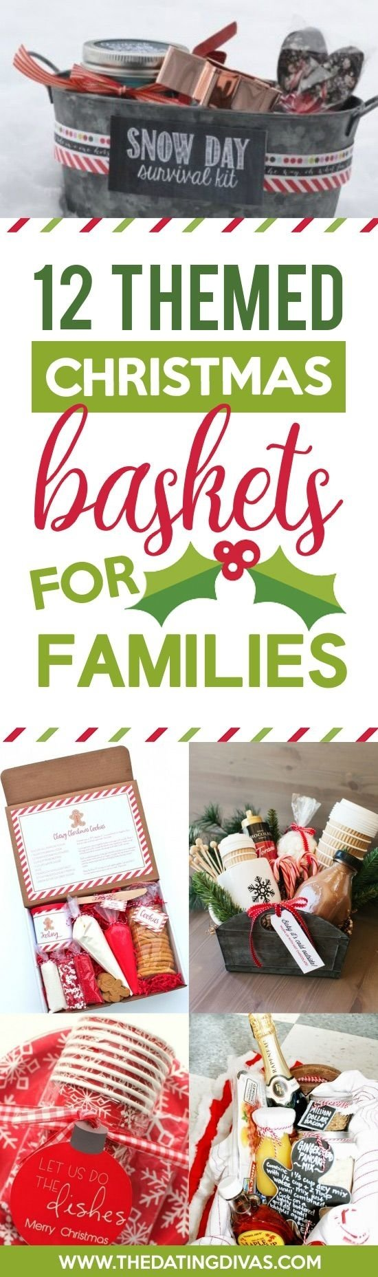 50 themed christmas basket ideas | christmas gifts, gift and holidays