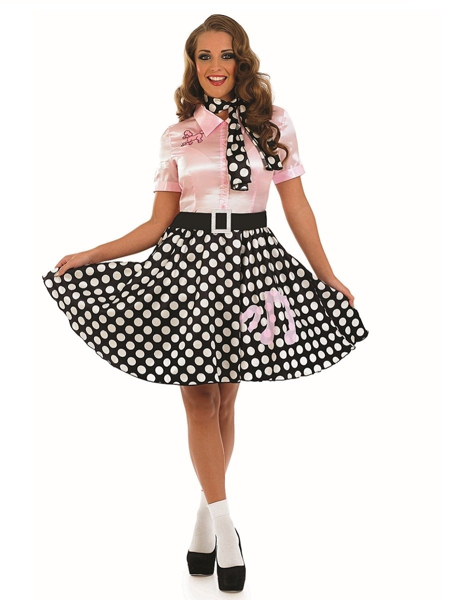 50s rock n roll girl costume