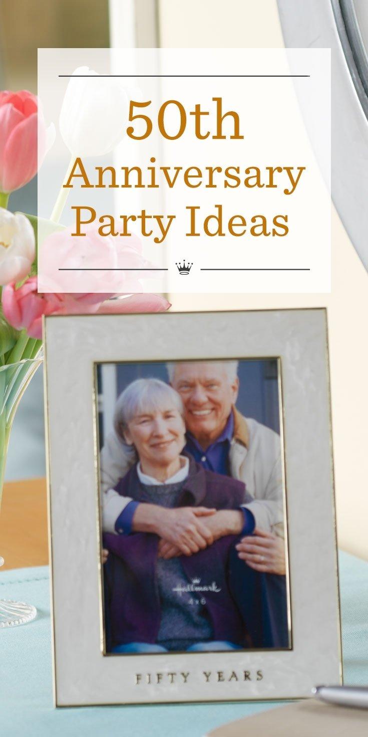 10 Attractive Ideas For 50Th Wedding Anniversary 50th anniversary party ideas hallmark ideas inspiration 2020
