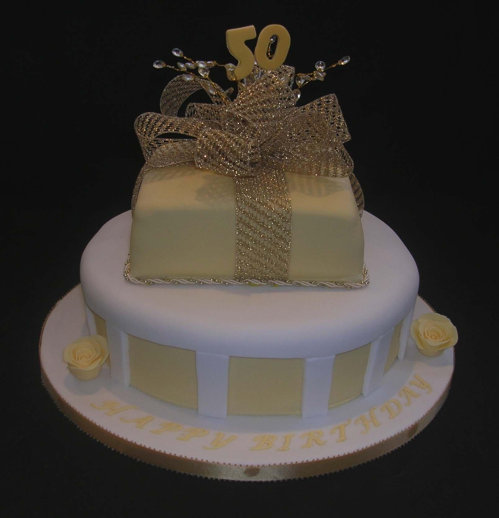 10 Wonderful Ideas For 50Th Birthday Cake 50th birthday cake decorating ideas walah walah 1 2020