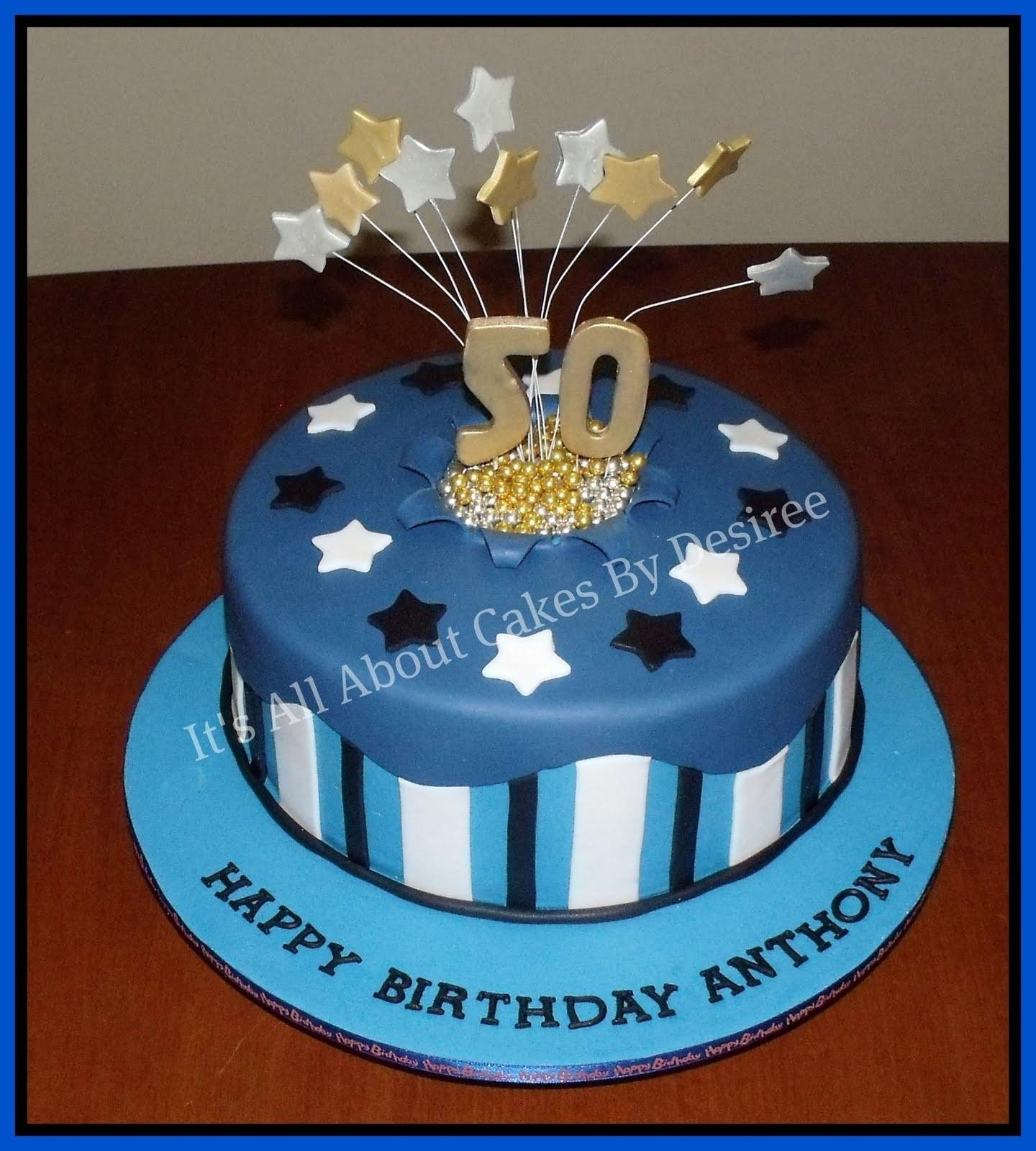 10 Pretty 50Th Birthday Cake Ideas For Men Name