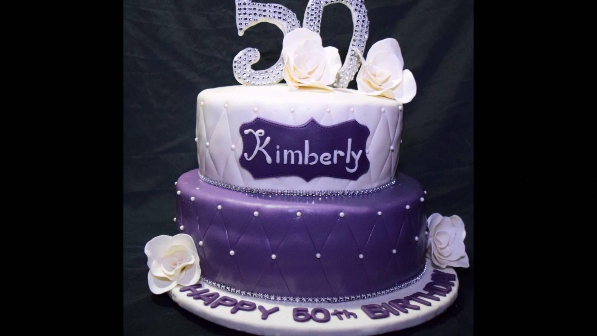 10 Wonderful Ideas For 50Th Birthday Cake 50th birthday cake youtube 1 2020