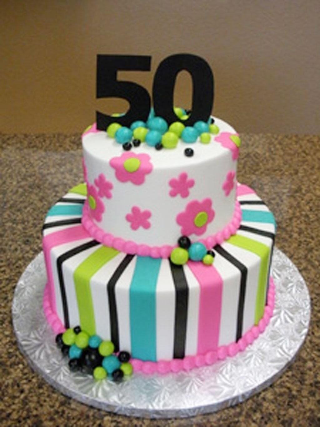 10 Wonderful Ideas For 50Th Birthday Cake 50th Cakes Pictures Women