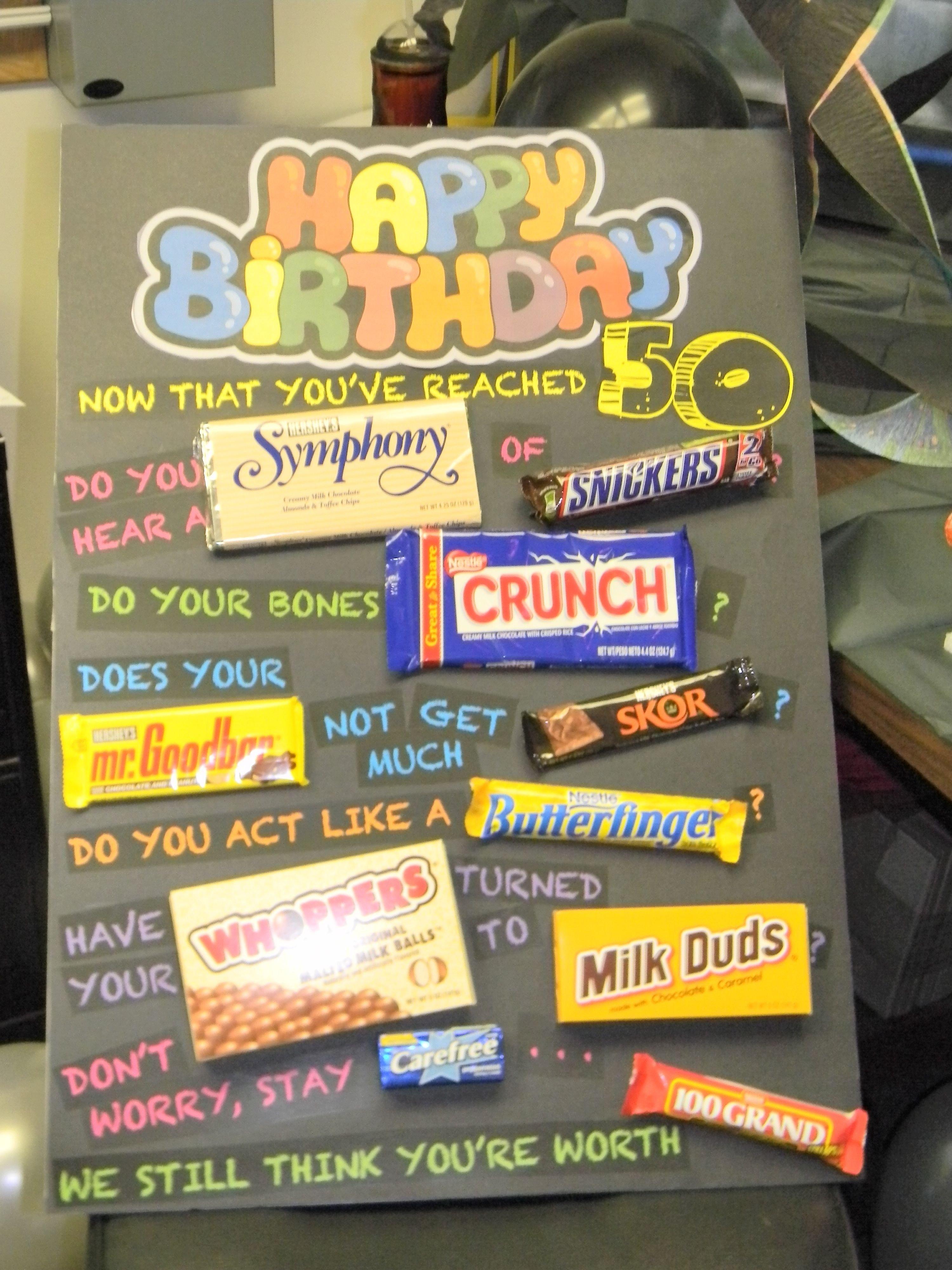 10 Spectacular Ideas For 50Th Birthday Present 50th birthday gift ideas 50th birthday cards 50th and birthdays 2020