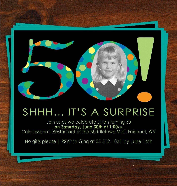 10 Stylish Surprise 50th Birthday Party Ideas 2021