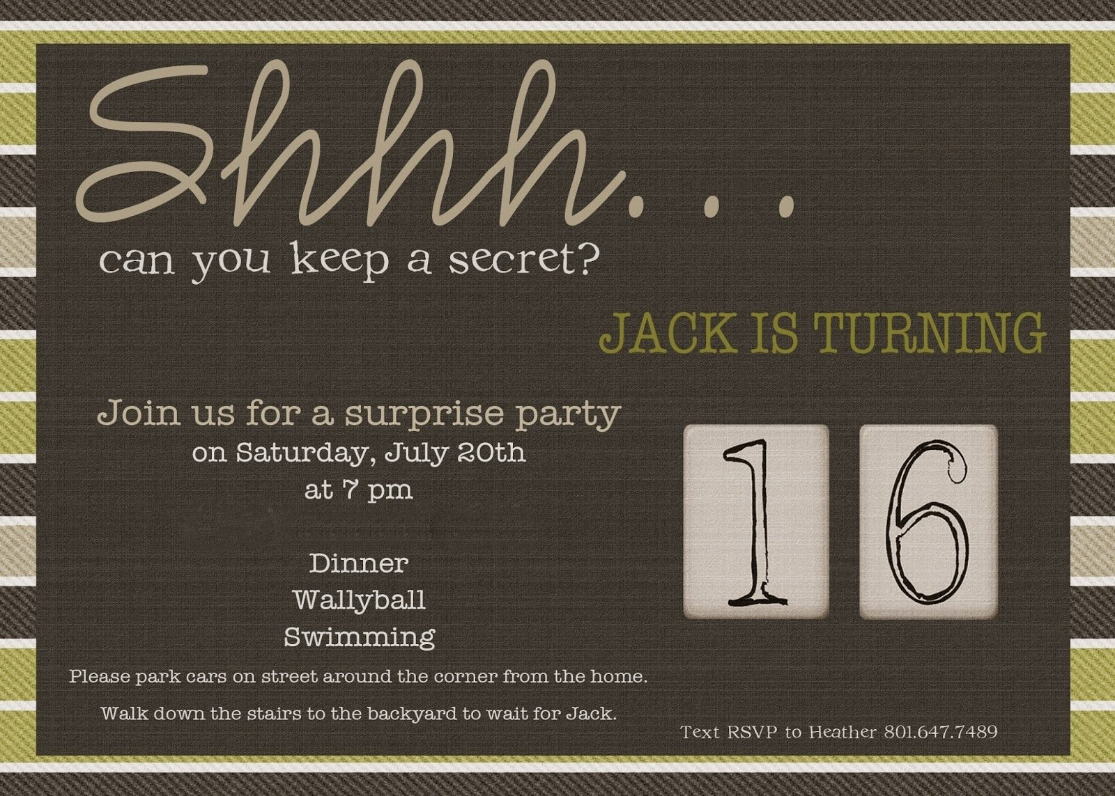 10 Stylish Surprise 50Th Birthday Party Ideas 50th birthday surprise invitations best party ideas 2021