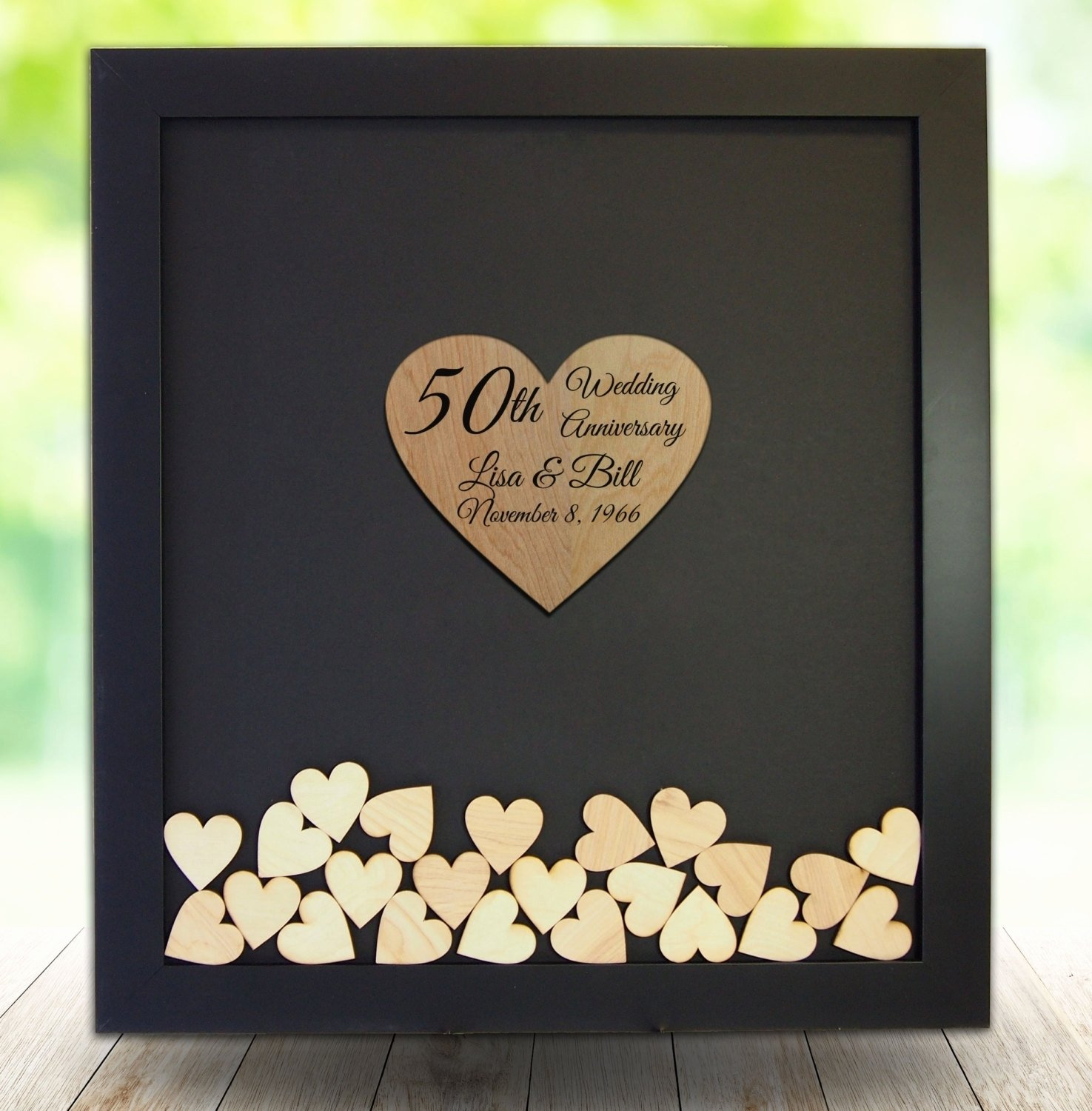 10 stylish 50th wedding anniversary gift ideas
