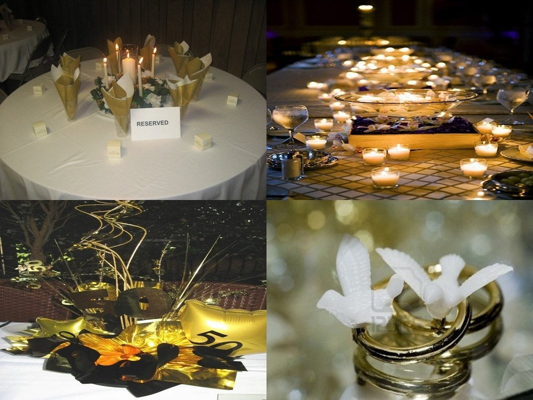 10 Attractive Ideas For 50Th Wedding Anniversary 50th wedding anniversary party ideas with theme 1 2020