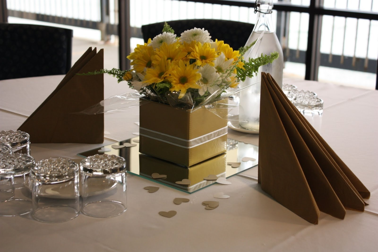 Ideas For 50th Wedding Anniversary Table Decorations Idea Gallery