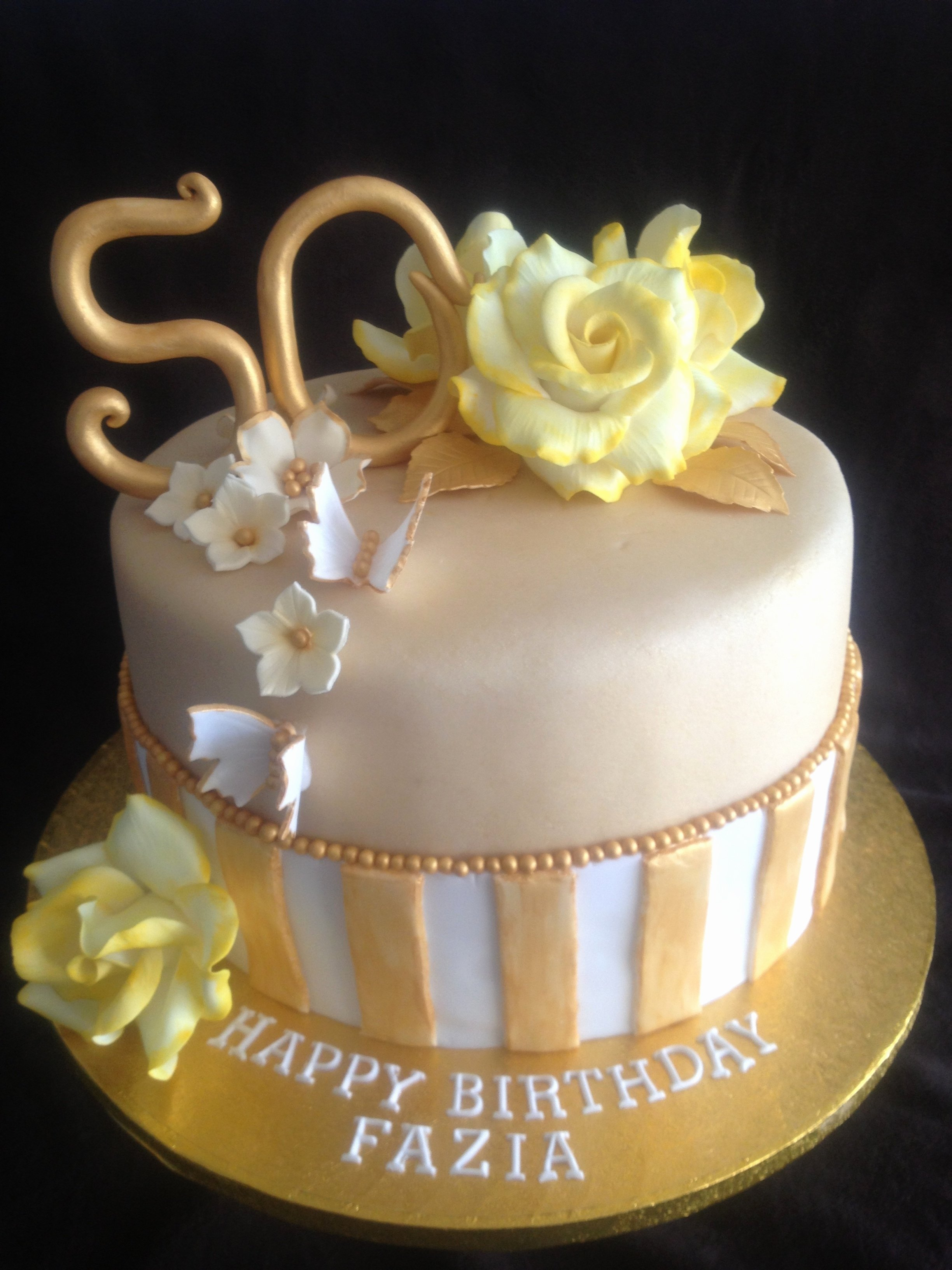 10 Awesome 50Th Birthday Cake Decorating Ideas 50th wedding cake decorations awesome 50th birthday cake ideas for 2020