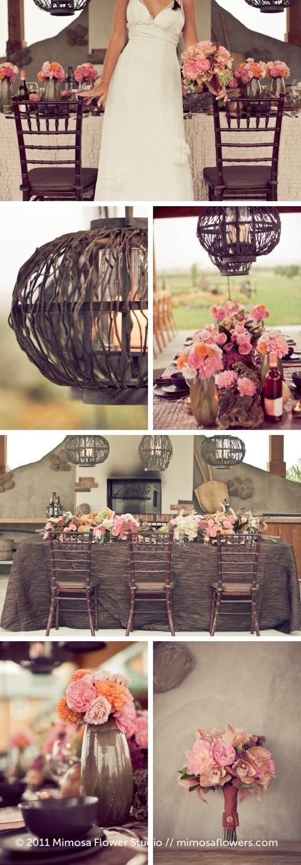 10 Fantastic Pink And Brown Wedding Ideas 51 best pink and brown wedding images on pinterest brown brown 1 2021
