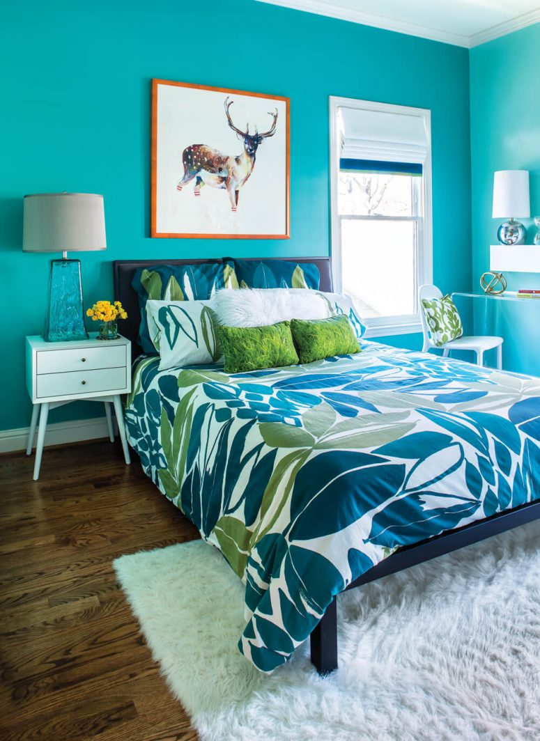10 Stylish Green And Blue Room Ideas 51 stunning turquoise room ideas to freshen up your home