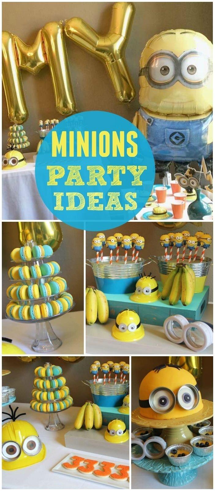 10 Nice Despicable Me 2 Birthday Party Ideas 52 best minions images on pinterest birthdays ideas para fiestas 2020