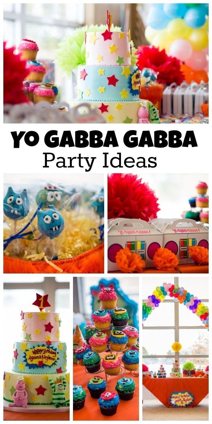 10 Great Yo Gabba Gabba Birthday Party Ideas 52 best yo gabba gabba party ideas images on pinterest yo gabba 1 2020