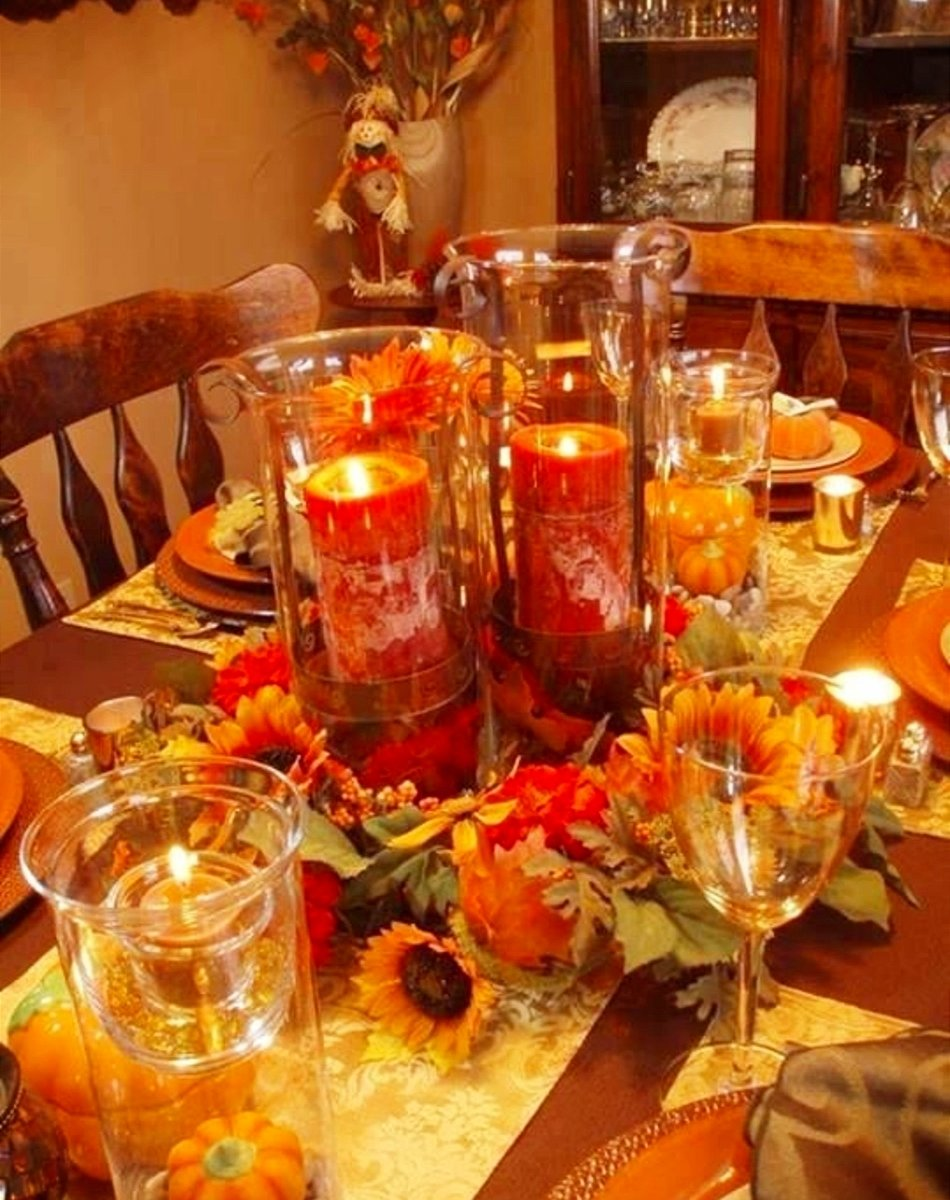 10 Attractive Table Setting Ideas For Thanksgiving 52 pictures of thanksgiving table settings thanksgiving table 2021