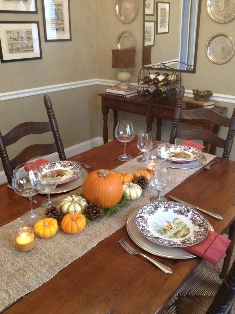 10 wonderful thanksgiving table setting ideas easy 2019 - Thanksgiving table setting ideas ...