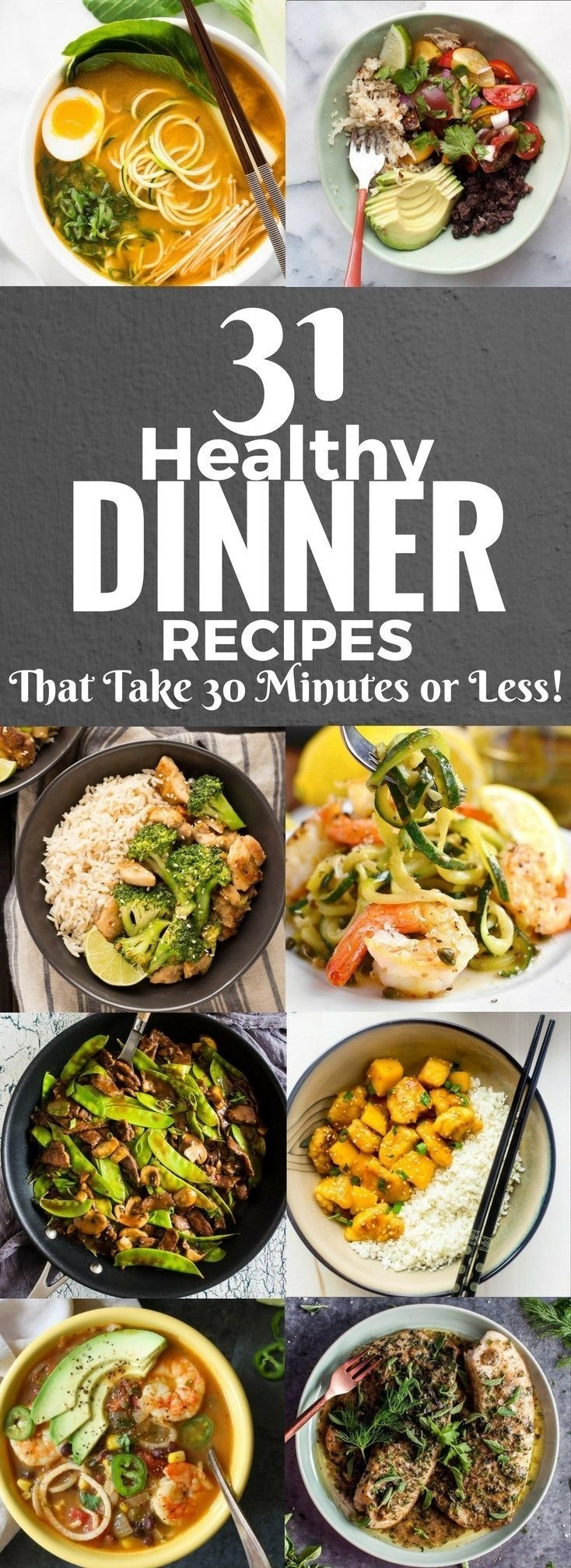 10 Beautiful Quick Easy Healthy Dinner Ideas 533 best meal planning ideas tips and tricks images on pinterest 2020