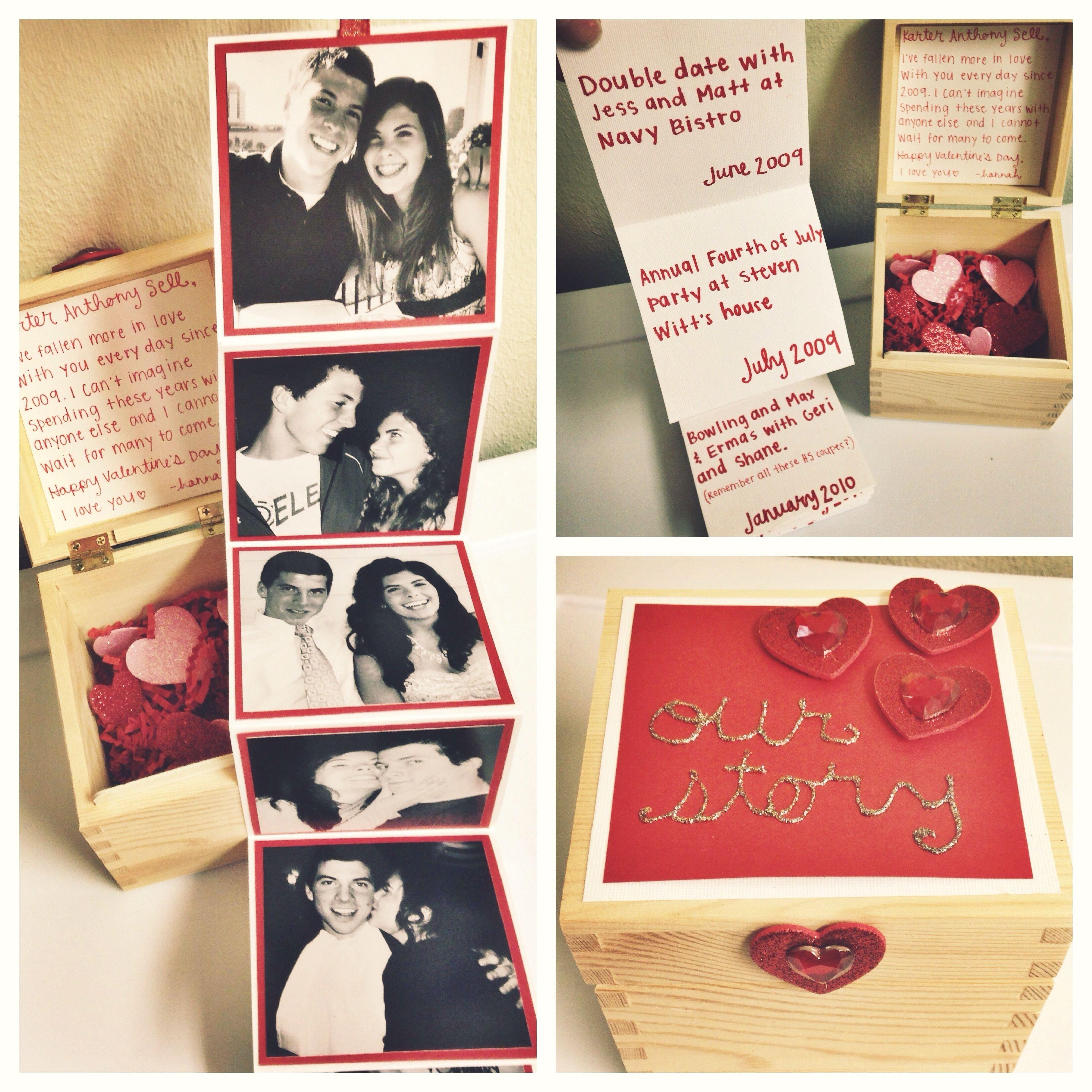 55+ diy valentine gifts for him | boyfriends, anniversaries and timeline