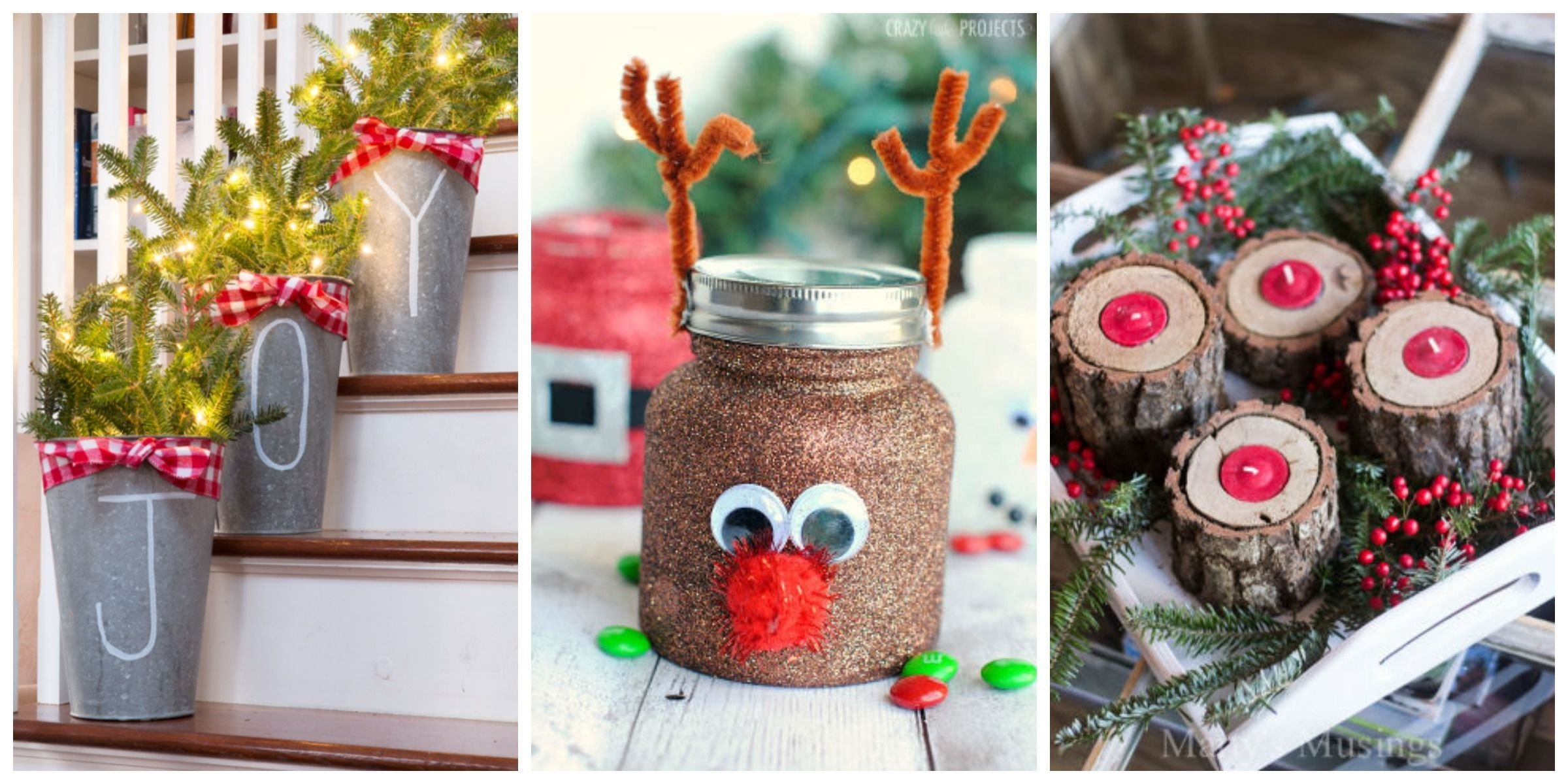 10 Fabulous Christmas Crafts Ideas For Adults 55 easy christmas crafts simple diy holiday craft ideas projects 1