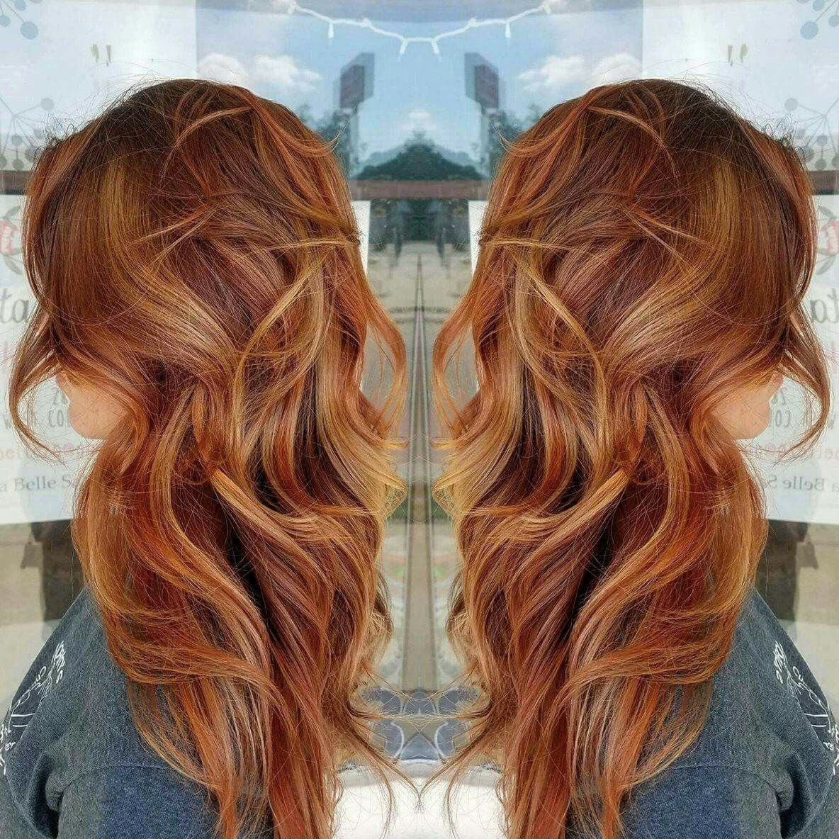 10 Stunning Red With Blonde Hair Color Ideas 55 fall hair color ideas for blonde brown and auburn hairstyles 1 2021